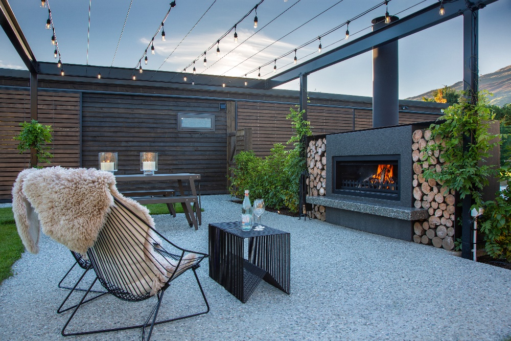 outdoor fireplace nz
