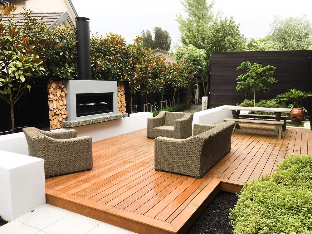 Outdoor fireplace council and building consents