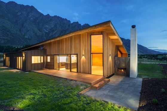 Herron Bach Custom outdoor fireplace New Zealand - Ultimate in grand design
