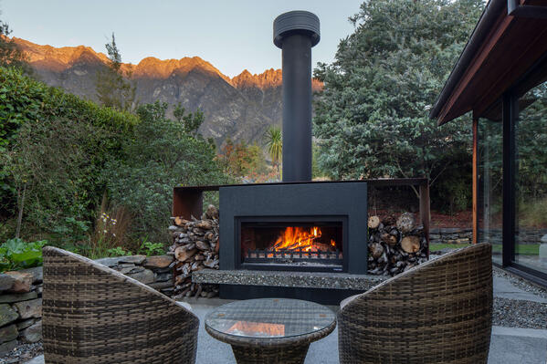 How to care for an outdoor fireplace