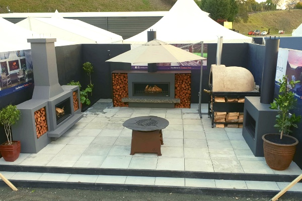 Discover NZ's top home show exhibitions. this was Trendz stand at Mystery Creek Fieldays 2019
