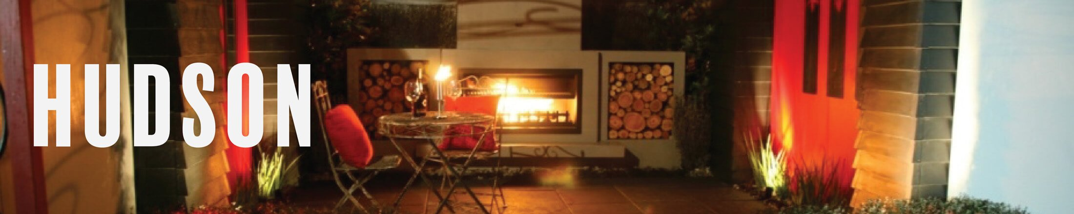 Hudson classic style outdoor fireplace perfect for your outdoor heating solutions