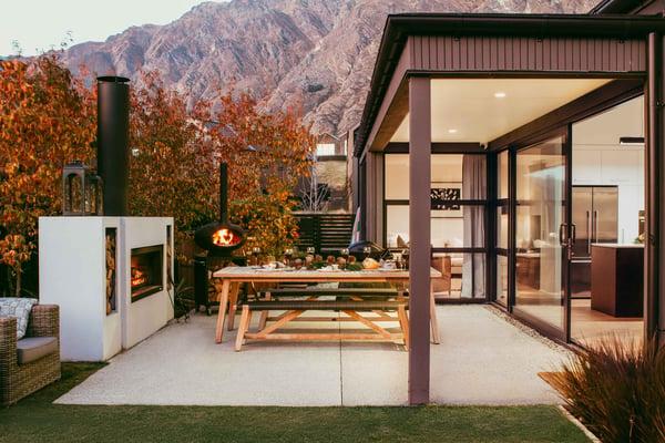 Trendz outdoor fireplace