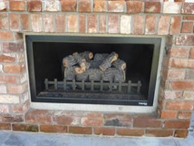 Gas Firebox