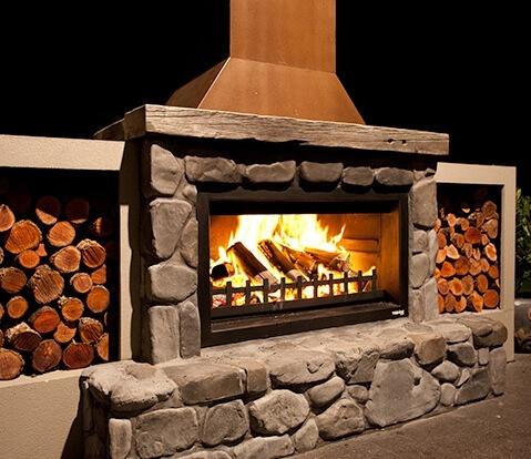 Trendz Outdoor Fireplace Installation