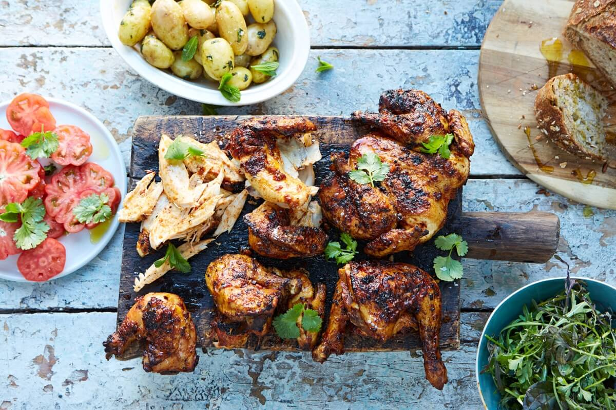 JAMIE OLIVER'S AWESOME BARBECUED CHICKEN