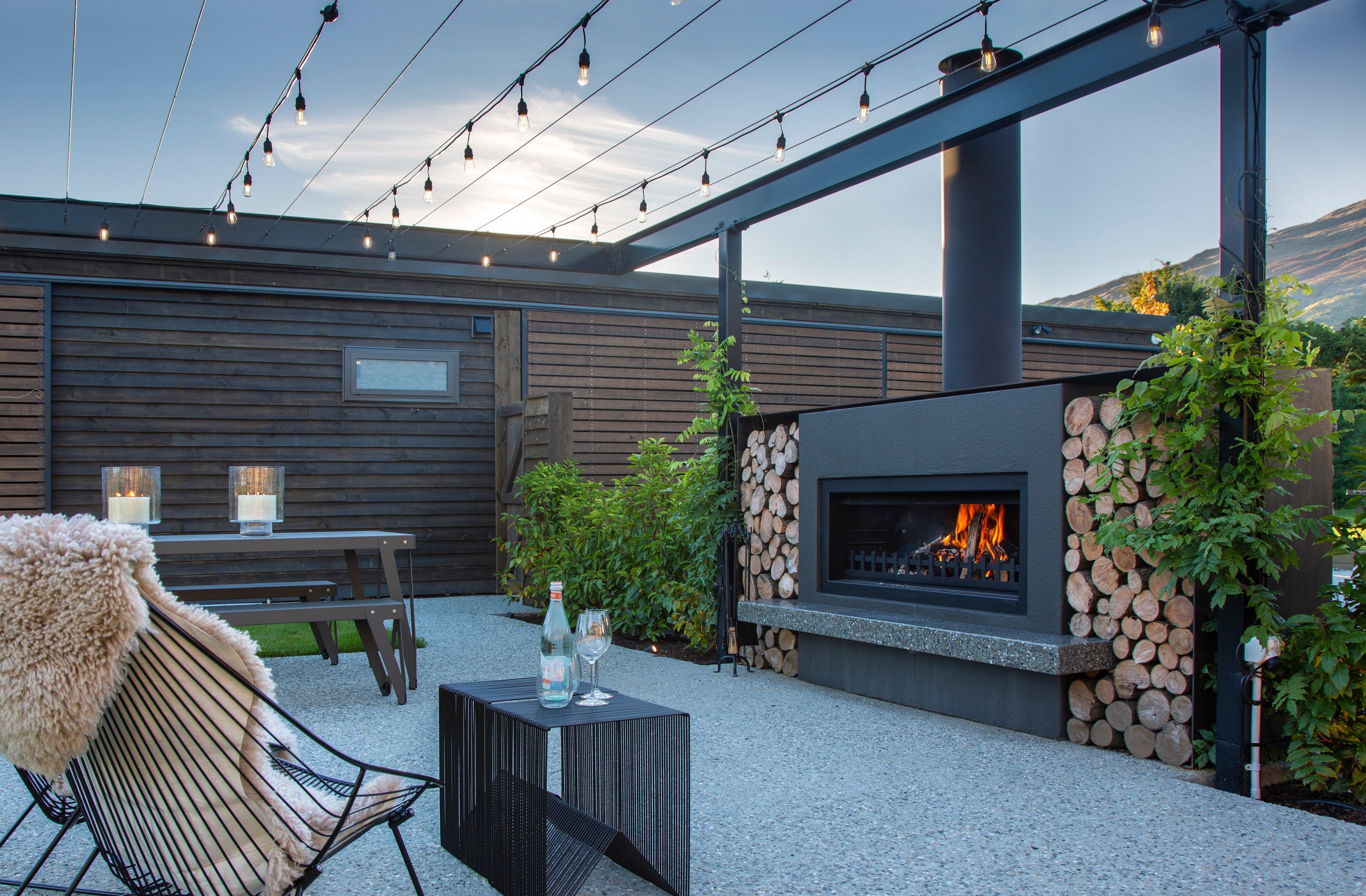 Outdoor fireplace nz