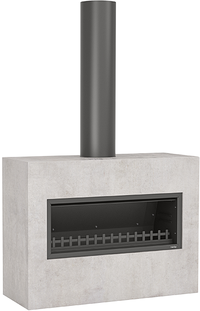 Trendz Outdoors fireplace in Burton design