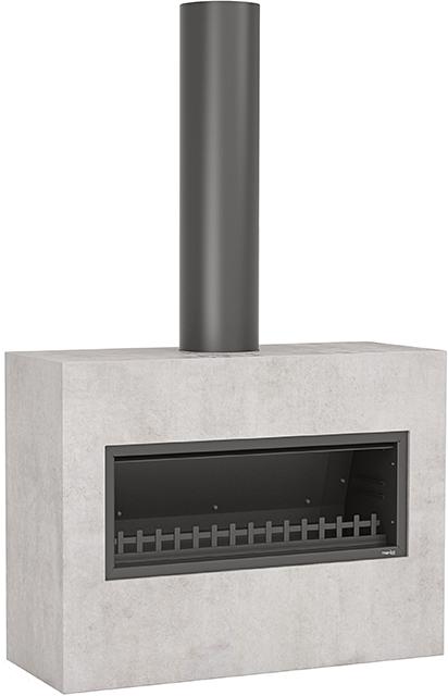 Trendz Outdoors fireplace in Burton design