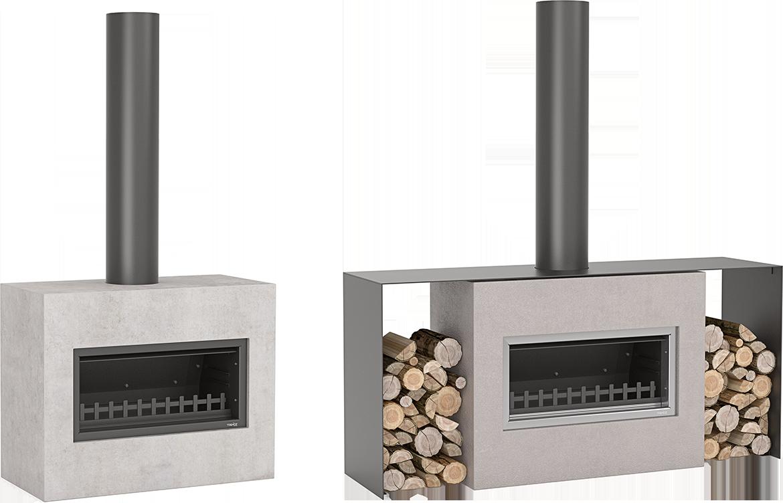 Trendz Outdoors' fireplace in Mini Burton design