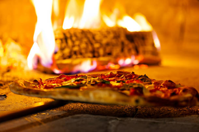 Cooking the perfect wood fired pizza