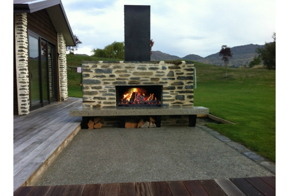 Pleasing The Douglas Outdoor Fireplace Available From Trendz Outdoors Download Free Architecture Designs Scobabritishbridgeorg